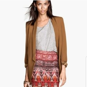 H&M Skirt Red aztec mini skirt Size Size 6